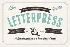 RetroSupply LetterPress by RetroSupply Co. on Creative Market