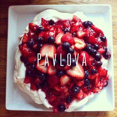 Pavlova - Alternative for Cake
