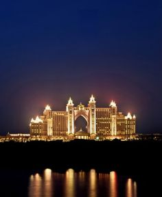 Atlantis Hotel @ Night