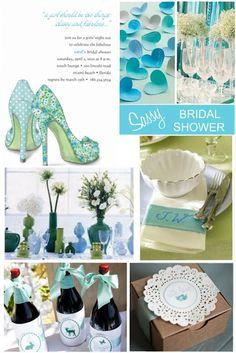 Something blue bridal shower