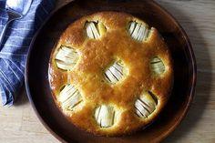 sunken apple and honey cake | smittenkitchen.com
