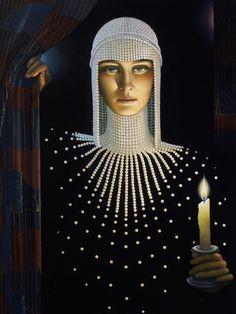 american painter, book trailers, pearl, art centers, intriqu, street art, art prints, white chrzanoska, jane white