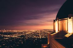 Griffith Observatory.   flashback to when i met jules hough here.