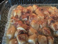 Here is a very easy Cinnamon Roll recipe. It uses only 5 ingredients and can made in less than 30 minutes.
