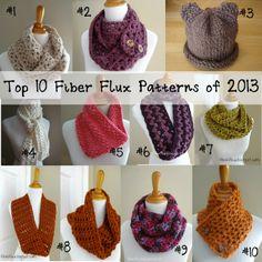 Top 10 Fiber Flux Patterns of 2013! ❥Teresa Restegui http://www.pinterest.com/teretegui/❥