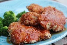 Crispy Chicken Thighs with a Brown Sugar Buffalo Sauce