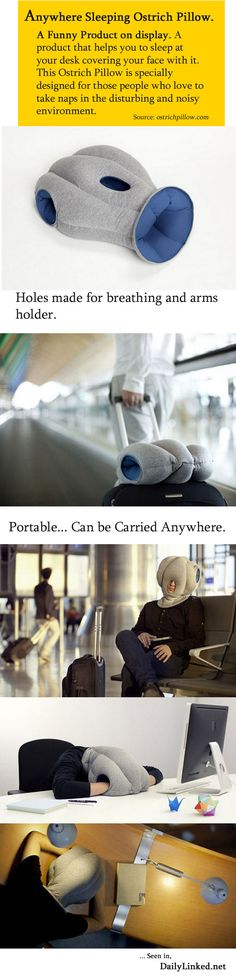 Ostrich Pillow. Someone PLEASE buy me this!!