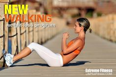 new walking weight loss program