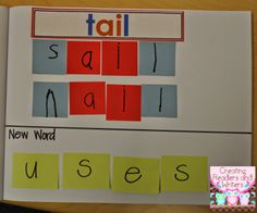 Creating Readers and Writers: Small Group Word Work Photo-Examples