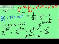 Solución Ecuación Diferencial de Bernoulli