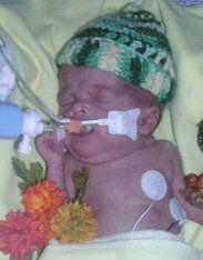 Preemie NICU Clothing Information - hats, booties, blankets
