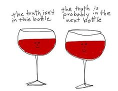 The truth isn't in this bottle...