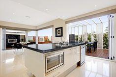 The kitchen on pinterest kitchen drawers kitchens and oasis for Mcdonald jones kitchen designs
