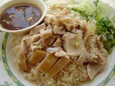 Thai Food Recipe: ข้าวมันไก่ Kao Mun Gai