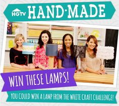 July 25, 2014, 7:00 pm Freebie Friday: Win a Lamp From HGTV Handmade http://blog.hgtv.com/design/2014/07/25/freebie-friday-win-a-lamp-from-hgtv-handmade/  http://idealshedplans.com/backyard-storage-sheds/