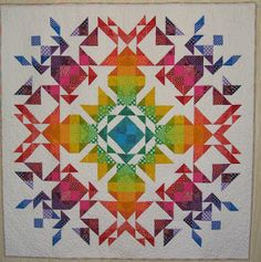 Artsy Chick Quilts: Modern Roue Chromatique (Modern Color Wheel)