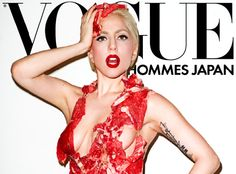 Gaga on Vogue by Terry Richardson