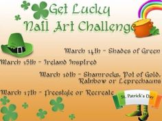 Get Lucky Nail Art Challenge | Be Happy And Buy Polish