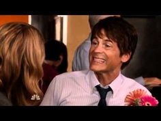 Chris Traeger from Parks and Rec.  LITERALLY one of the best characters on TV.