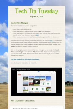 Tech Tip Tuesday - Google Drive Changes