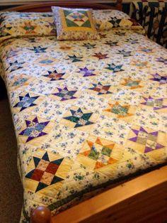 pretty 4 patch basket quilt