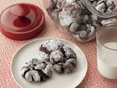 Chocolate Gooey Butter Cookies from FoodNetwork.com