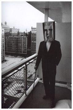 Inge Morath, (the Mask Series, a collaboration with Saul Steinberg), 1961-1962 (viaabridurif).