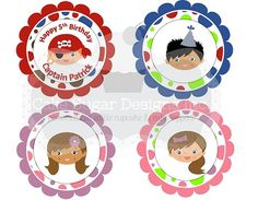 Cake Sugar Designs.  Adorable cupcake toppers, great customer services.