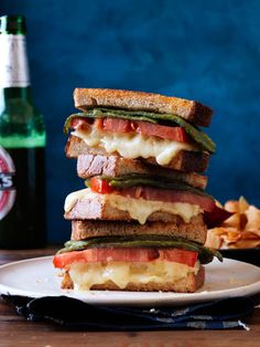 California-style grilled cheese