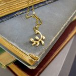 Little Gold Vine Necklace  - Ornamental Things