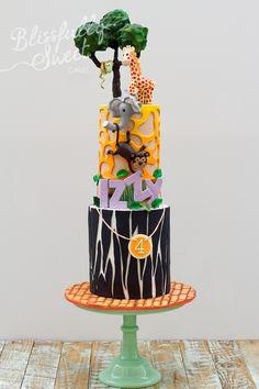 jungle theme, theme cakes, jungl theme, jungl cake, jungle cake