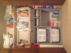Baby's closet organizer