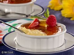 Creme Brulee - A restaurant-style dessert you can make right at home.