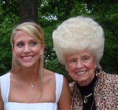 haha I love grandma hair!