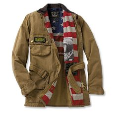 Steve McQueen Washington jacket, also from Barbour. I'd be more likely to buy this than the sweater.