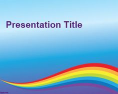 Free colorful backgrounds for PowerPoint presentations