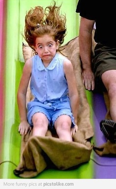 Best scared face ever!
