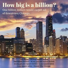 Challenge your class to show how big $1 billion is and you could win $3,000 for your classroom from @H&R Block