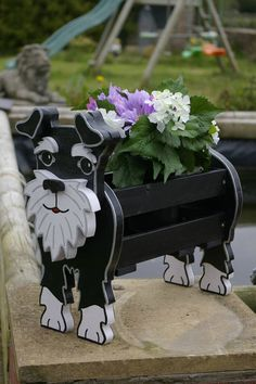 Hey, I found this really awesome Etsy listing at https://www.etsy.com/listing/162466397/schnauzer-planter-garden-ornaments