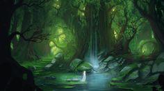 Enchanted Lake by *Blinck on deviantART