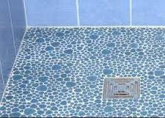 Salle de bain on pinterest merlin bathroom and ikea - Douche italienne mosaique ...