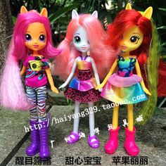 Equestria Daily: CutieMark Crusaders Equestria Girls Pop up on Taobao