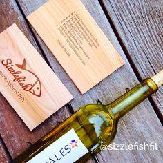 Soak cedar planks in wine!