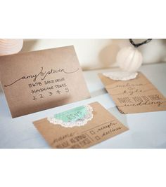 How to make your own Wedding Invitations | #DIY Wedding Invites on Joann.com | Supplies available at Jo-Ann Fabric and Craft Stores | #craftyeverafter