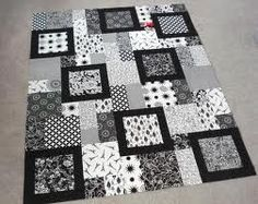 black white and red quilts - Google Search