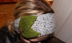 Seed-Stitch Ear Warmer