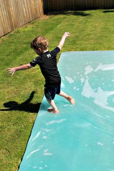 How to make a giant outdoor water bed (blob)!