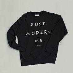 Postmodern Black Sweatshirt