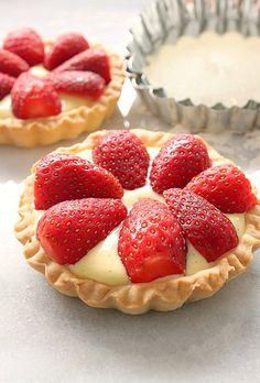 Strawberry Tarts  #30DaysofCAdairy