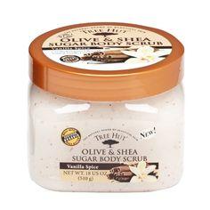Tree Hut Body Scrub, Vanilla Spice, 18 Ounce natural skin, bodi scrub, body scrubs, skin care, olive oils, spice, vanilla extract, tree hut, shea butter